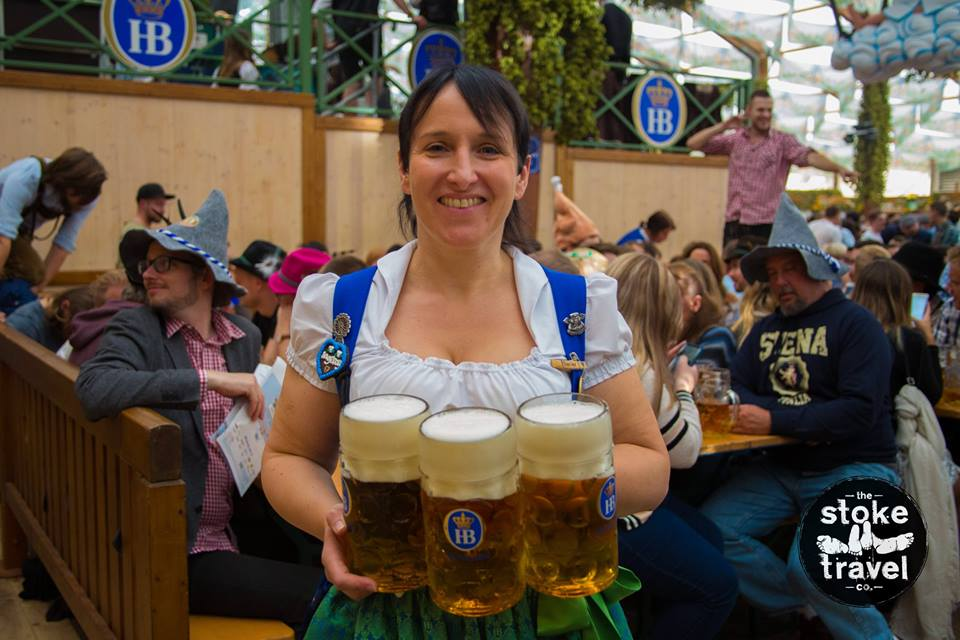 Sources Confirm, That Bierfrau is Definitely Into You