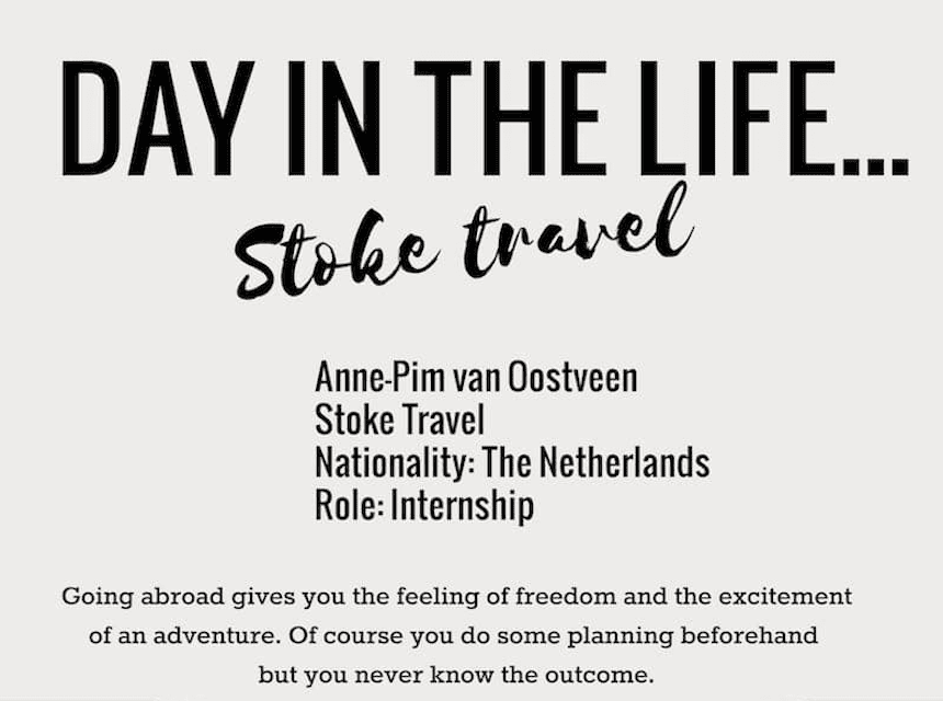 Day In The Life… Anne-Pim
