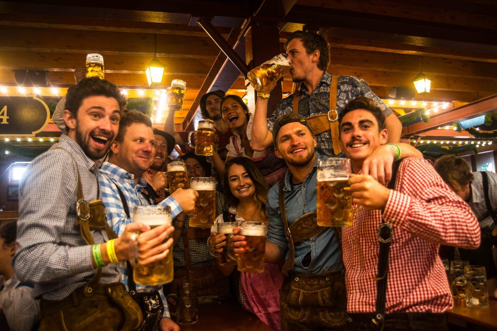 OKTOBERFEST IS THE WORLD'S BIGGEST BEER FESTIVAL