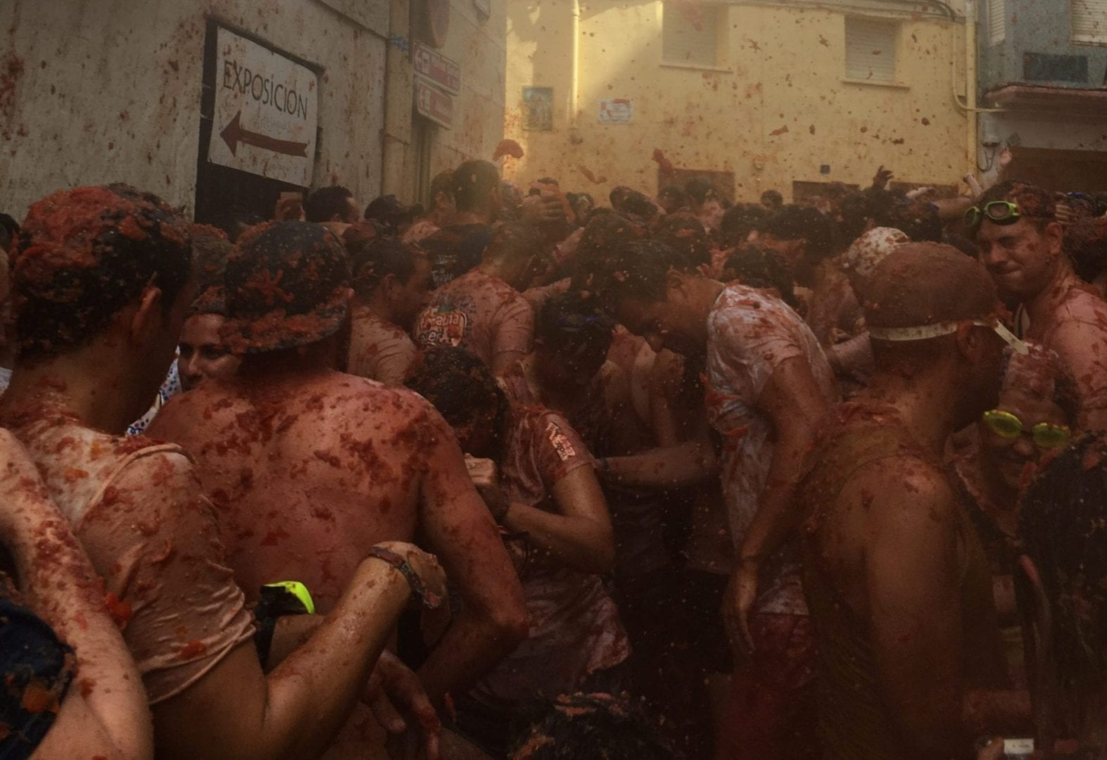 La Tomatina in 24 hours