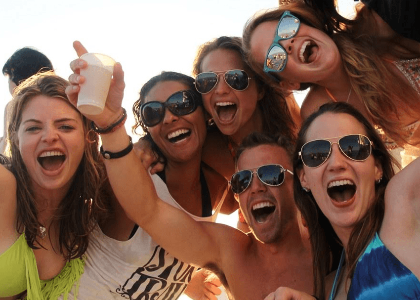 The Best Barcelona Boat Party