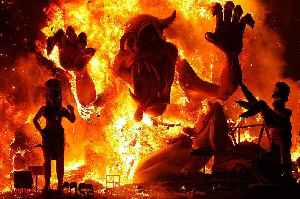 Four Reasons Las Fallas Is The Hottest Festival In Spain