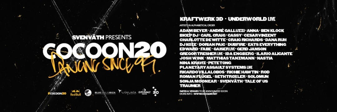 Kraftwerk and Underworld to celebrate 20 years of Cocoon in Ibiza